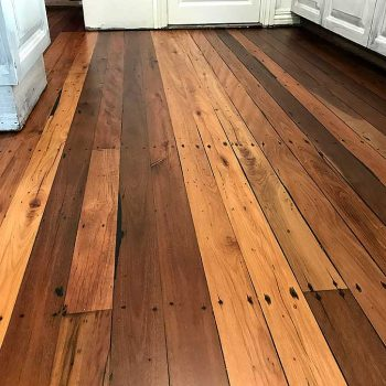 restored kitchen wooden floor sunshine coast