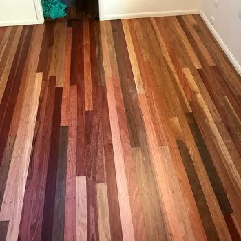 after - restored bedroom timber floor Sunshine Coast