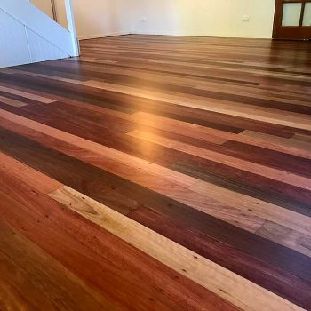 after - restored timber floor sunshine coast