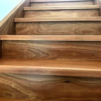 after - timber stairs restoration