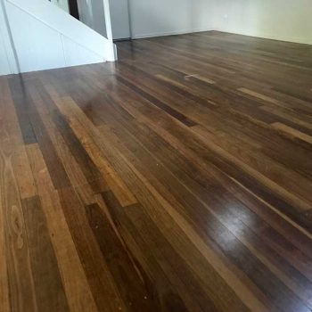 before - wooden floor sanding