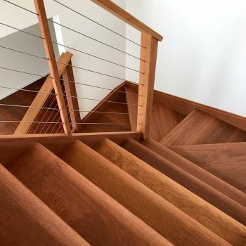 sunshine coast wooden stairs restoration