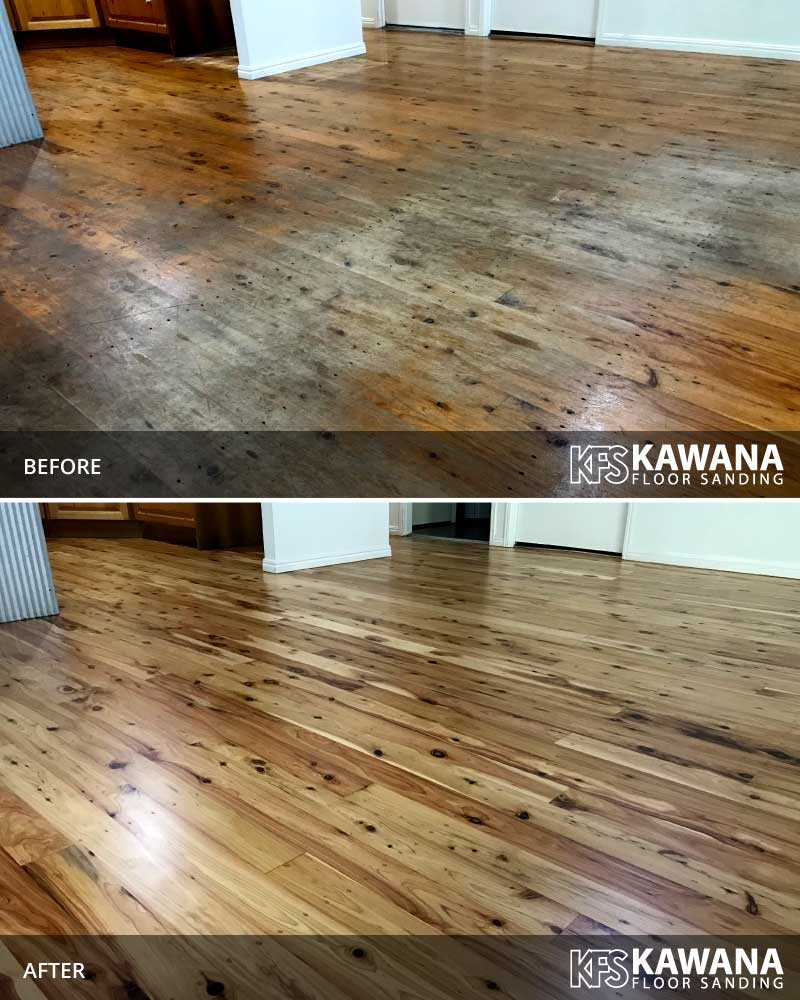 wooden floor restoration sunshine coast